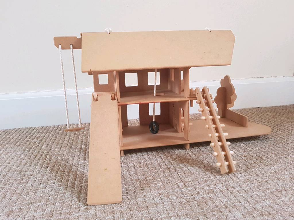 Kids Rapido Toy Wooden Activity Play House Boys Or Girls