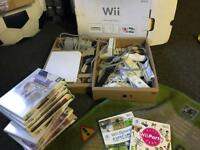Wii and 9 games (plus Wii sports and party