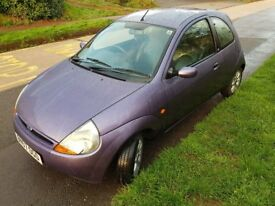 2007 FORD KA 1.3 ZETEC CLIMATE WITH FULL LEATHER INTERIOR 68700 MILES