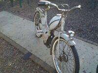French mobylette motorcycle