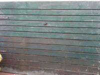 Steel metal panels x2