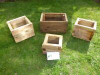 set of garden planter box's ** BARGAIN**