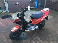 2004 50cc Peugeot speed fighter 2 scooter SPARES ONLY