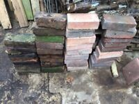 Bricks (33) some new some reclaimed, standard size, each one is 21cm x10cm x 6.5 cm