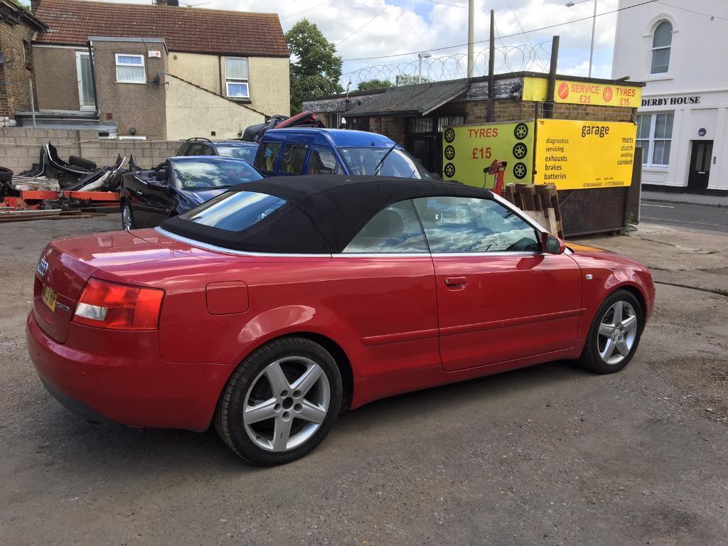 Audi A Cabriolet Tdi In Ramsgate Kent Gumtree - 2003 audi a4