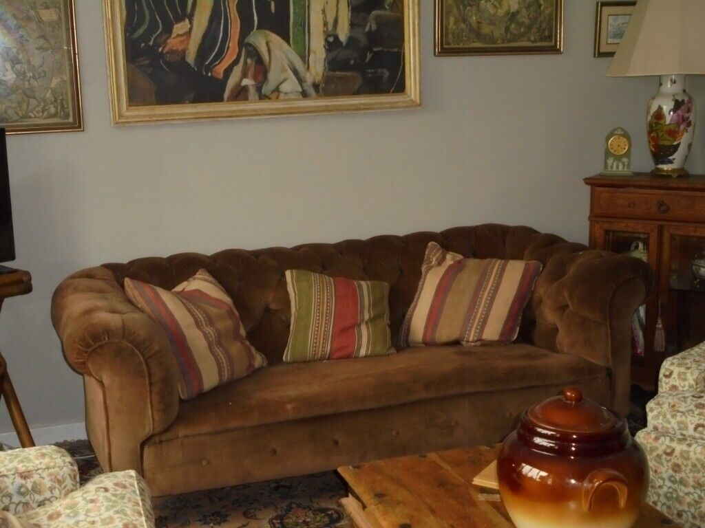 Terrific Georgian Sofas For Sale Individually Or Together Price Per Sofa In Devizes Wiltshire Gumtree Machost Co Dining Chair Design Ideas Machostcouk