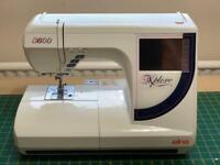 Elna xplore 8600 embroidery sewing machine