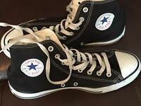 High top converse size9
