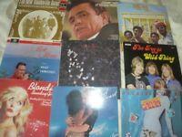 LP VINYL RECORDS X 18
