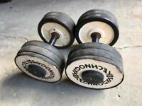 Pair of 20kg dumbbells