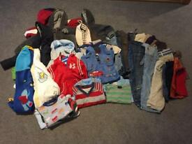 12-18 months Large Boys Bundle Clothes