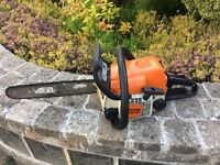 Stihl MS180 Petrol chainsaw good working order