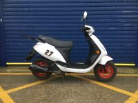 2018 SINNIS STREET 50cc MOPED , HPI CLEAR , GOOD CONDITION, VERY LOW MILES