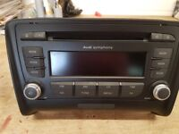 Audi tt symphony cd player