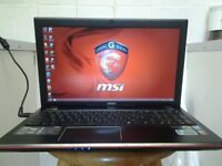 offer's , MSI GAMING LAPTOP , i7 , 12 GB , SSD