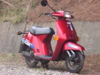 honda vision 50cc classic moped fast little thing 2 stroke