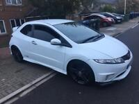 Honda Civic type r fn2 2008 white hpi clear mint condition