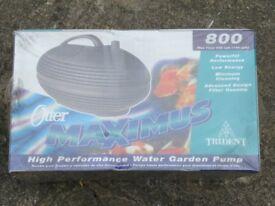 Otter Maximus high performance water garden pump, water fountain pump 800 lph