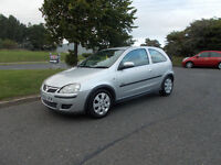 VAUXHALL CORSA 1.2 SXI HATCHBACK 3 DOOR SILVER 2005 BARGAIN ONLY 495 *LOOK* PX/DELIVERY