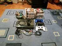 PS3 & 3 controller & games