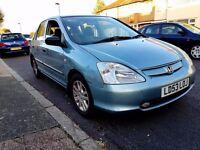 2003 Honda Civic 1.6 Vtec 1 Year Mot