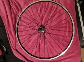 Unfinished Rear Wheel, Mavic Open Elite Rim, Shimano Tiagra Hub, Wrong Spokes