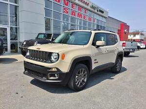 2016 Jeep RENEGADE, TOIT OUVRANT, 4X4 75th Anniversary,
