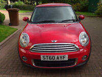 MINI HATCH ONE 1.6 ONE D 3d 90 BHP ++ SERVICE RECORD (6 STAMPS) ++ ++OVER £2000 EXTRAS INCLUDED++
