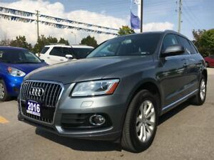 2016 Audi Q5 *2.0T Progressiv|Navigation|Rear View Camera