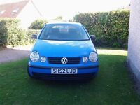 2002 volkswagon polo 1.2