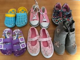 Girls shoes -size 7,8,9