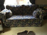 Luxury designer large sofa and armchair