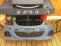 Corsa vxr front bumper rear bumper