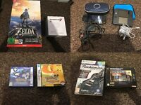 Video games items nintendo sega sony ps1 ps2 gamecube snes