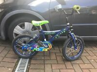 Kids Ben ten BMX style bike