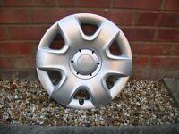 """Skoda Fabia 15"""" wheel trims"""