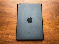 Apple iPad Mini, 16GB, WiFi, Space Grey / Black — Great Condition, Original Box