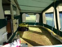 Folding Camper Tent trailer. Conway continental