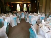 Elegant chair cover hire from 70p