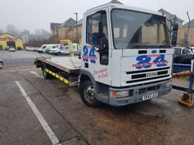 FOR SALE OR SWAP FORD IVECO RECOVERY TRUCK READ BELOW!!