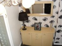 DFS SIDEBOARD AND MATCHING MIRROR
