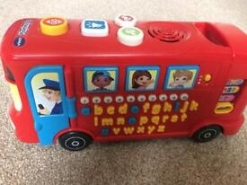 V-Tech Playtime Phonics Bus