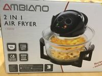 2 in 1 Air Fryer - Mint condition, boxed with receipt - only used twice
