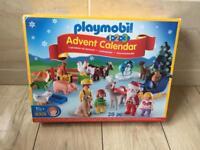 Brand new playmobil calendar