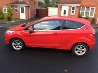 Ford Fiesta 1.4 TDCI Diesel, red, 3 Door