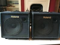 Roland KC-500 Amplifiers £150 each. For collection only.