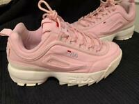 FILA Disruptor 2 Pink Trainers -Size 5