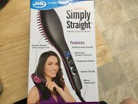 JML Simply Straight heated ceramic brush