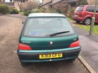 Peugeot 106 1.2L New clutch and exhaust