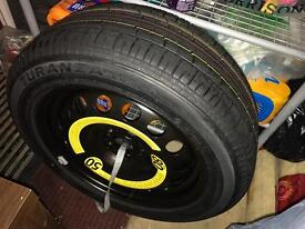 brand new tyre plus rim